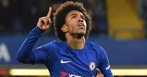 'Energy, passion, vigor and above all respect and dedication': fans react to Willian's Chelsea milestone