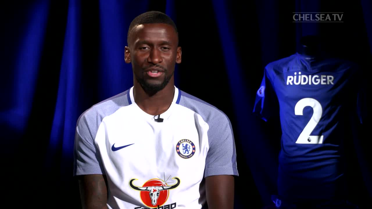 Antonio Rudiger is delighted after victory over Everton and