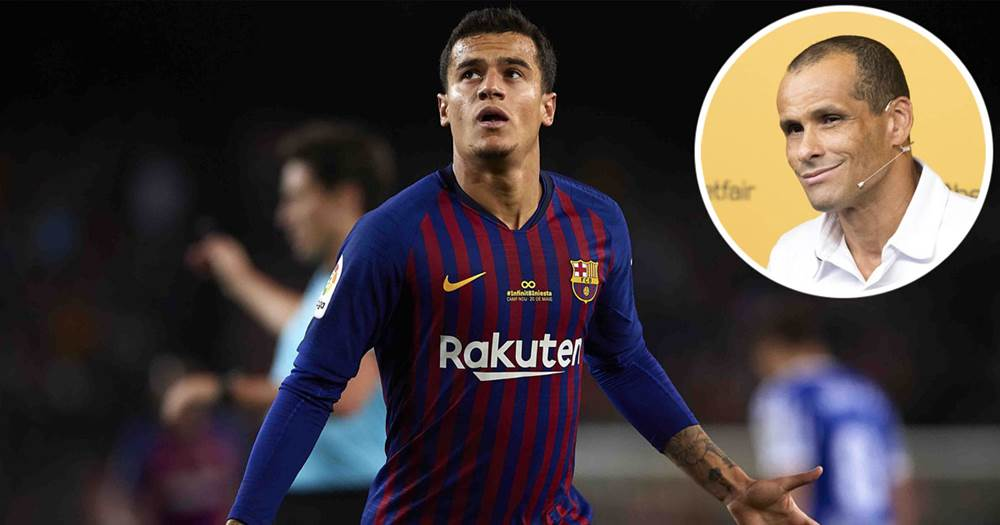 Image result for Philippe Coutinho, Messi  and  Rivaldo