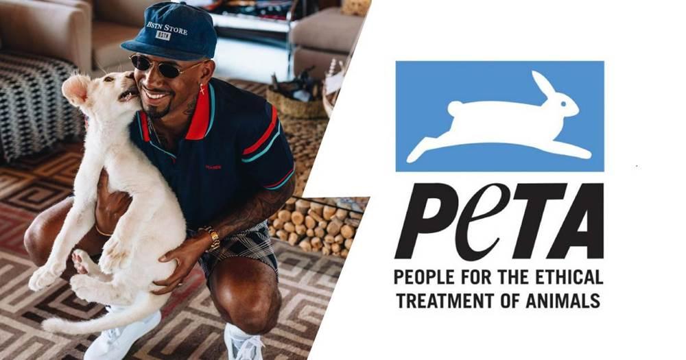 Tierschutzorganisation PETA kritisiert Boateng wegen eines Privatzoo-Besuchs - logo