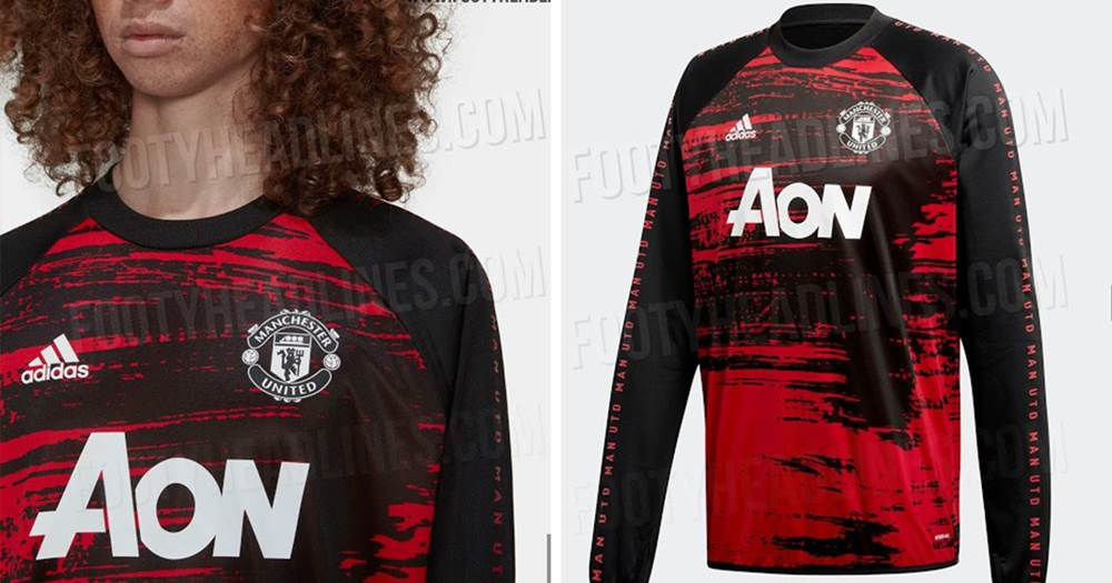 Man United S 2020 21 Third Kit Dazzle Camo Design Leaked