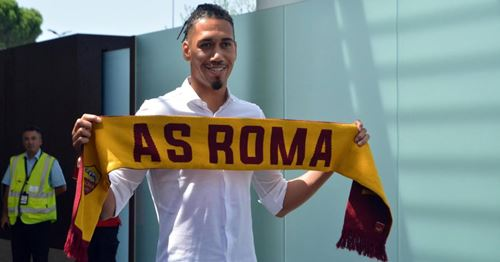 'My family is over here': Smalling enjoying life in Italy