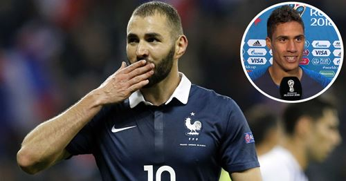 Varane refuses to comment on Benzema's prolonged absence in France's squad