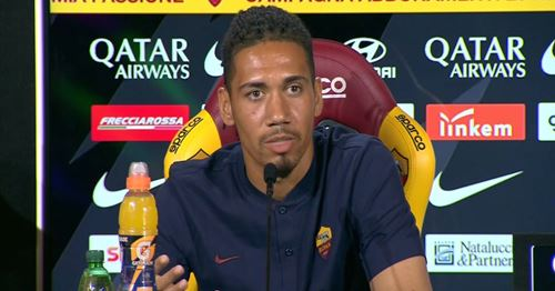 Smalling admits he thinks about United despite Roma success
