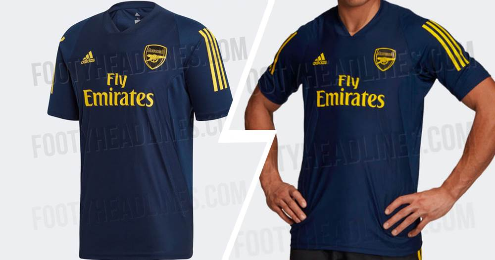 check out b7414 117a6 Arsenal's new training kit leaked and it looks stunning ...