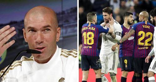 """Zinedine Zidane kommentiert den möglicherweise unfairen La Liga-Spielplan: """"Ich stelle den Spielplan nicht zusammen"""""""