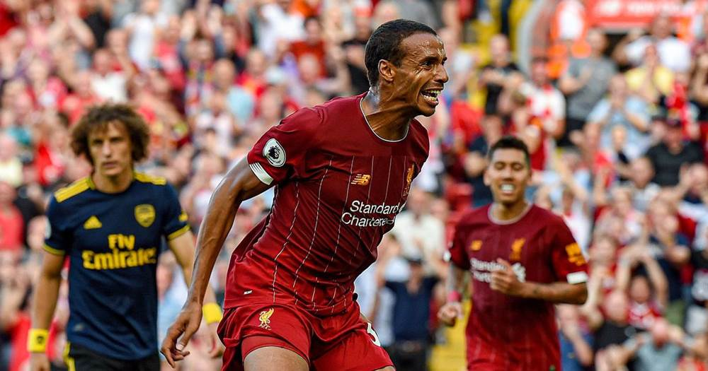 Joel Matip reflects on difficulties in beating Arsenal - logo