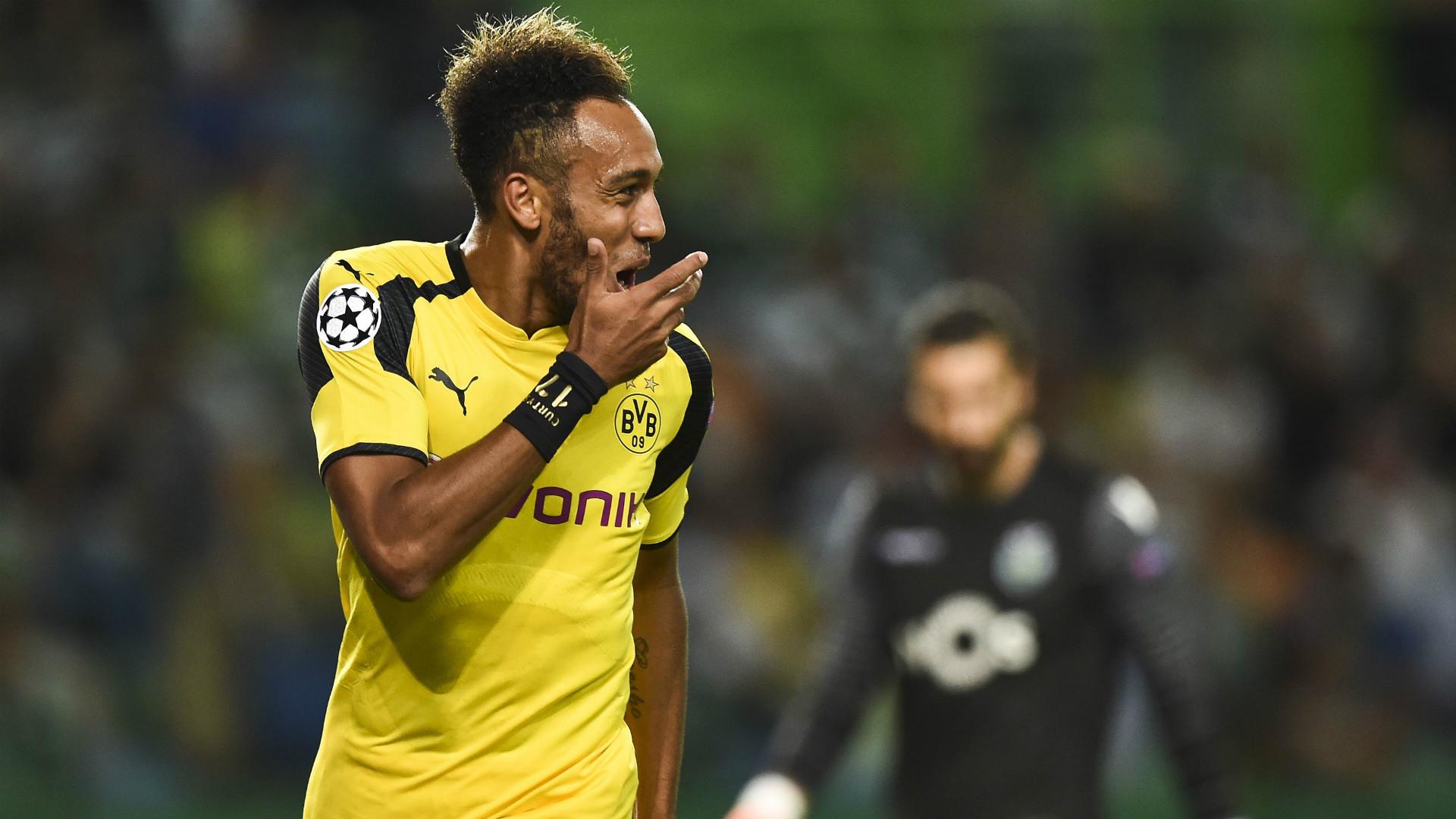 Chelsea linked Pierre Emerick Aubameyang reveals Borussia Dortmund