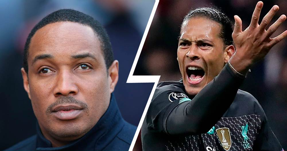 Image result for Virgil van Dijk and Paul Ince