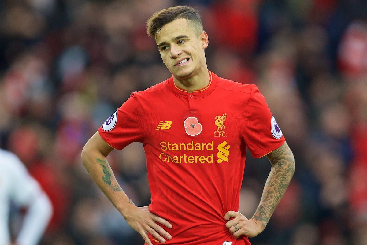 Real Madrid join race for Philippe Coutinho