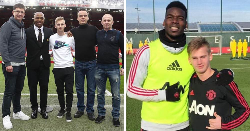 Russian prodigy Pinyaev impresses on third Man United trial as his mentor reveals extent of interest