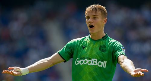 Odegaard steps up his recovery, expected to be fit for Real Madrid clash