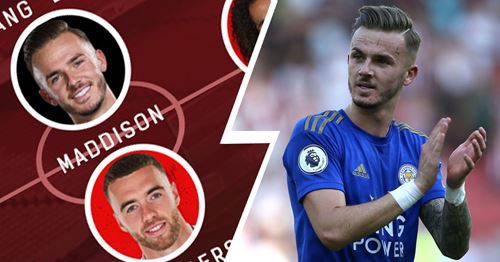 James Maddison in? How Arsenal could line-up after January, according to the rumours