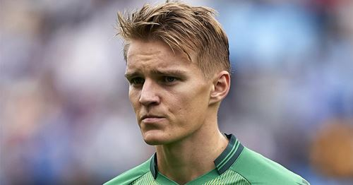 Odegaard: 'I would like Real Madrid to win La Liga this year'
