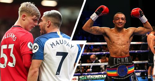 'Need those fighting types in this team!': fans love similarities between Williams and his professional boxer cousin