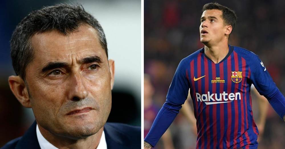 2f80d89defe Valverde: 'We expect a lot from Coutinho regardless of Dembele's injury'