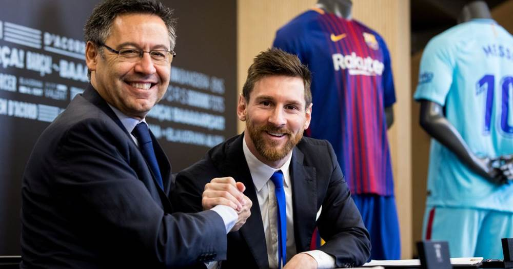 Bartomeu confirms plans to offer 'irreplaceable' Messi lifetime ...