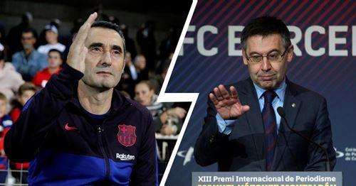 Detailed analysis: Will Barca really sack Valverde in December?