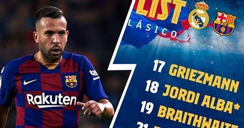 OFFIZIELL: Barca nennt Kader für El Clasico