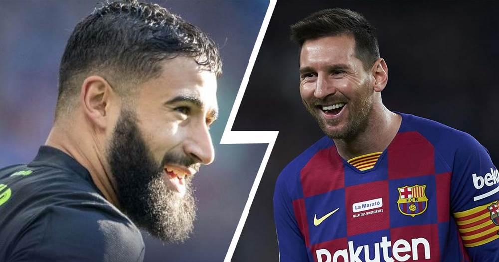 Футболисты похожие на месси