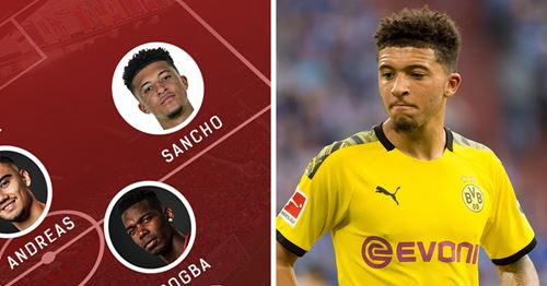What United could look like in 2020/21 with Jadon Sancho: 3 possible line-ups