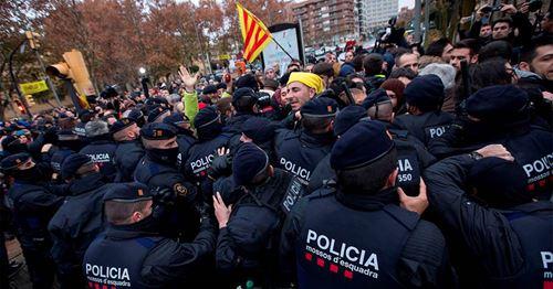 Die katalanische Polizei ist auf alle Bedrohungen während El Clasicos vorbereitet