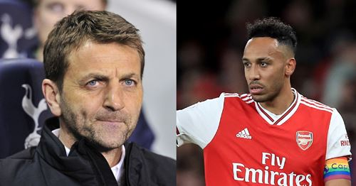 Sherwood believes Aubameyang staying hinges on Arsenal's recruitment