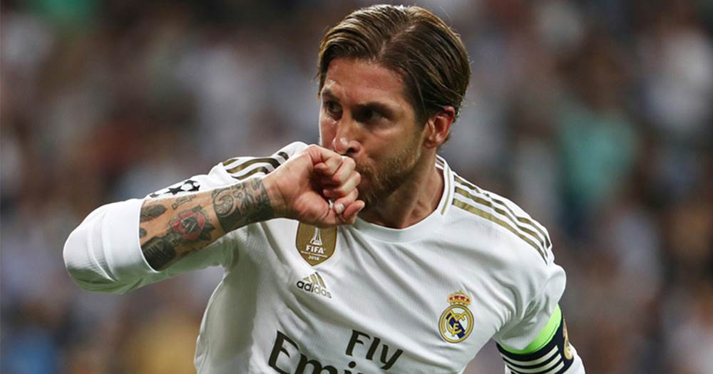 Real Madrid: Ten challenges for Sergio Ramos in 2020 ... |Sergio Ramos 2020 Drawing