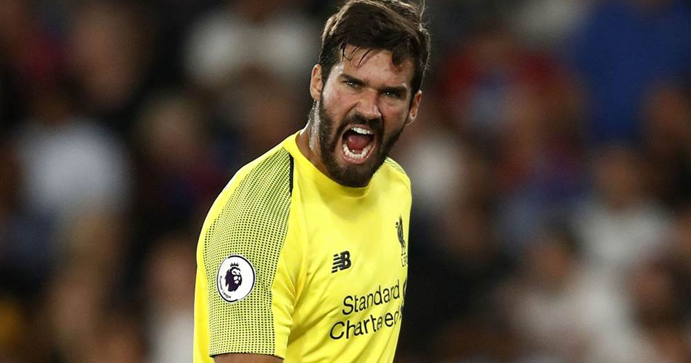 b3f001528 Alisson Becker will be wearing a new uniform for Barca clash ...