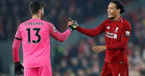 'They have made a quantum leap by signing Virgil van Dijk and Alisson'