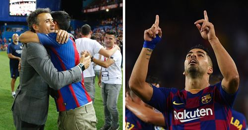 Suarez opens up about special role Luis Enrique played in his life