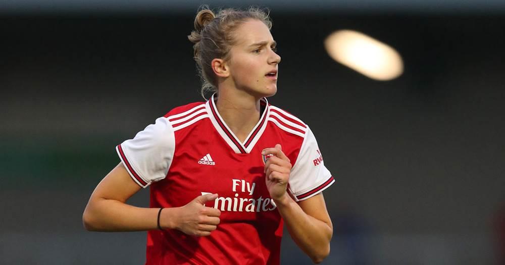 El impresionante partido de Vivianne Miedema en la goleada récord del Arsenal