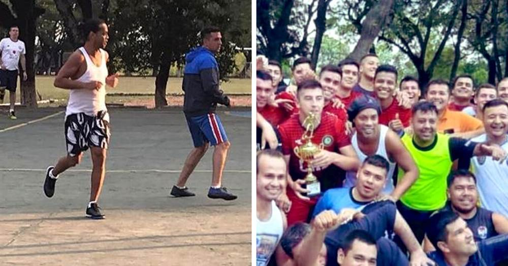 Ronaldinho 'named man of the match' in friendly game vs prison inmates