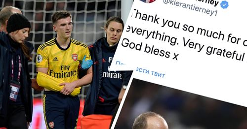 Tierney sends strong message to fans and club after another injury setback
