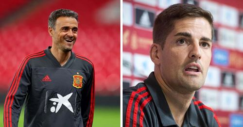 Cold war between Spain ex-coach Moreno and Luis Enrique goes on
