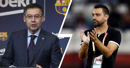 Bartomeu: 'Of course, Xavi will coach Barca one day' - Tribuna.com