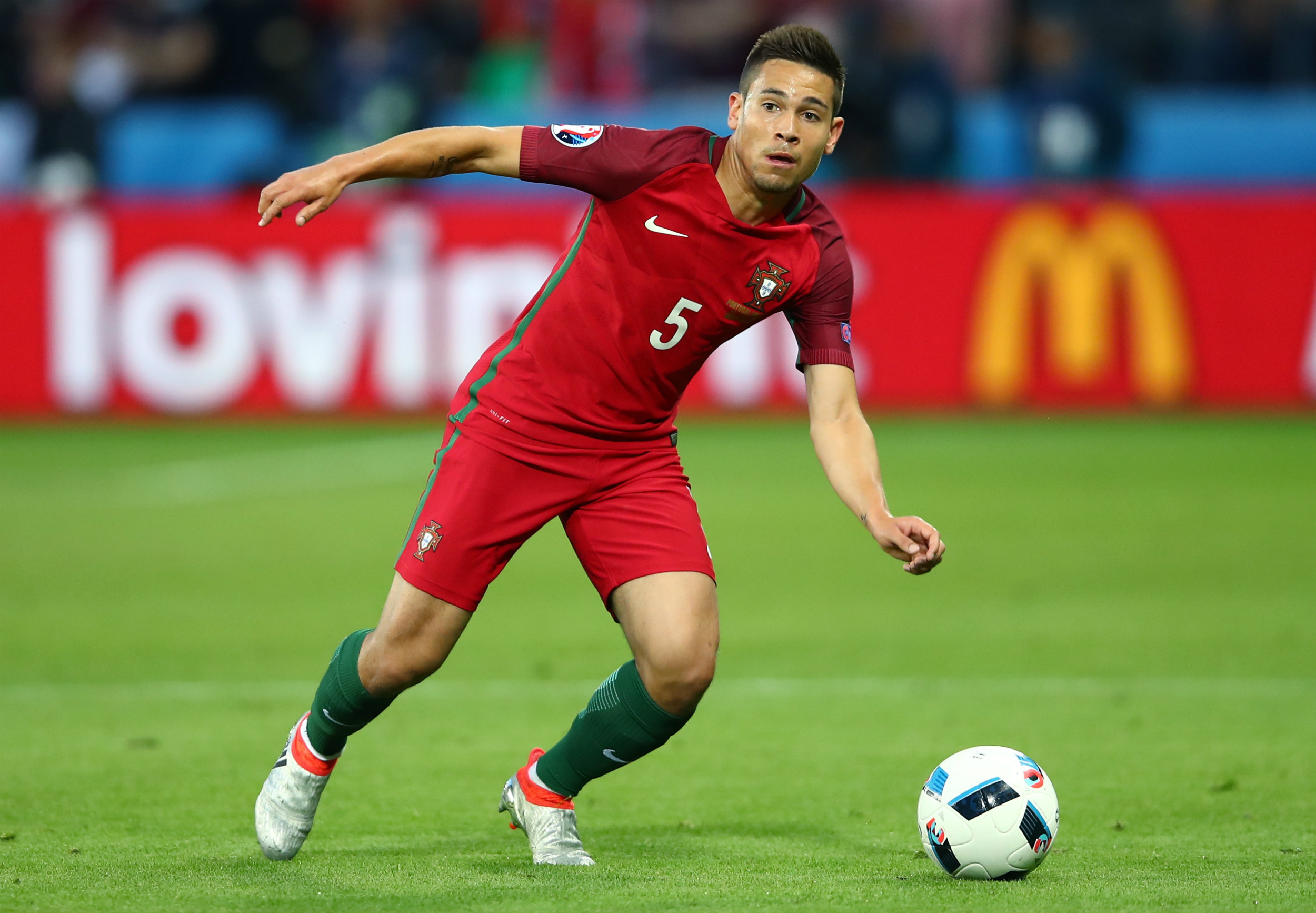 "Portugal s Raphael Guerreiro praises Cristiano Ronaldo ""You see"
