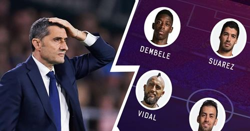 Formation dilemma: Select your Barca line-up vs Leganes from 2 options!