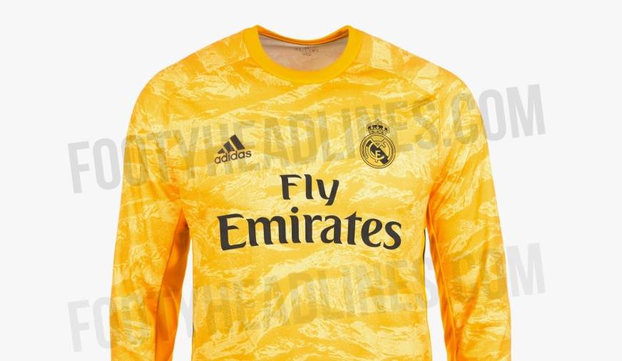 the best attitude a670b 3531b Leaked: Real Madrid 2019-20 goalkeeper kit revealed ...