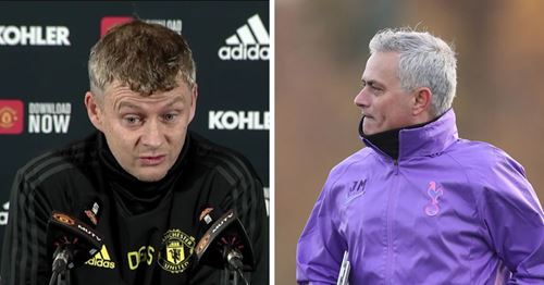 Ole Gunnar Solskjaer reacts to Jose Mourinho being back in Premier League