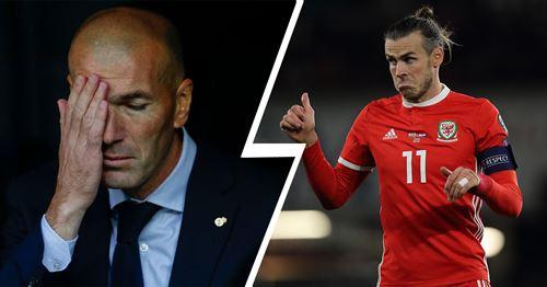 Marca: Zinedine Zidane won't be punishing Bale for latest Wales controversy