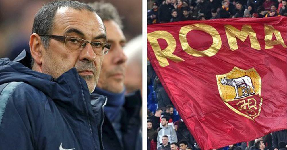 Goal: Roma target Sarri as they monitor his progress at Chelsea -  Tribuna.com