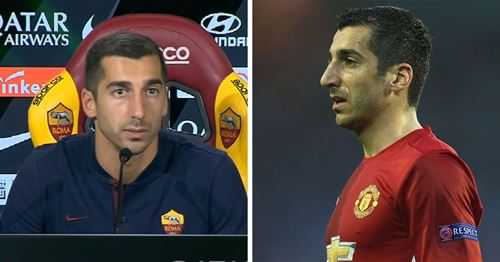 Mkhitaryan: 'Maybe I was not fitting so well in English football'