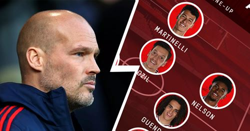 Arsenal fans pick their top XI to face Standard Liege: Martinelli starts up front