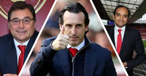 Arsenal chiefs publicly back Emery: 'He's the right man for the job'