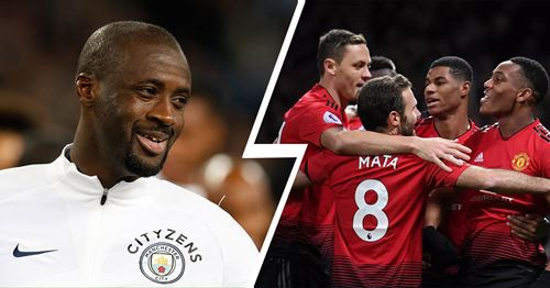 Yaya Youre names surprising Man United players as his toughest opponent