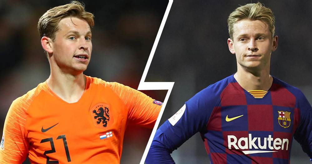 Koeman on De Jong: 'He plays differently with me in the national team' - logo