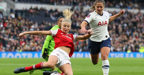 North London is red: Arsenal Ladies beat Spurs as Women Super League attendance record broken