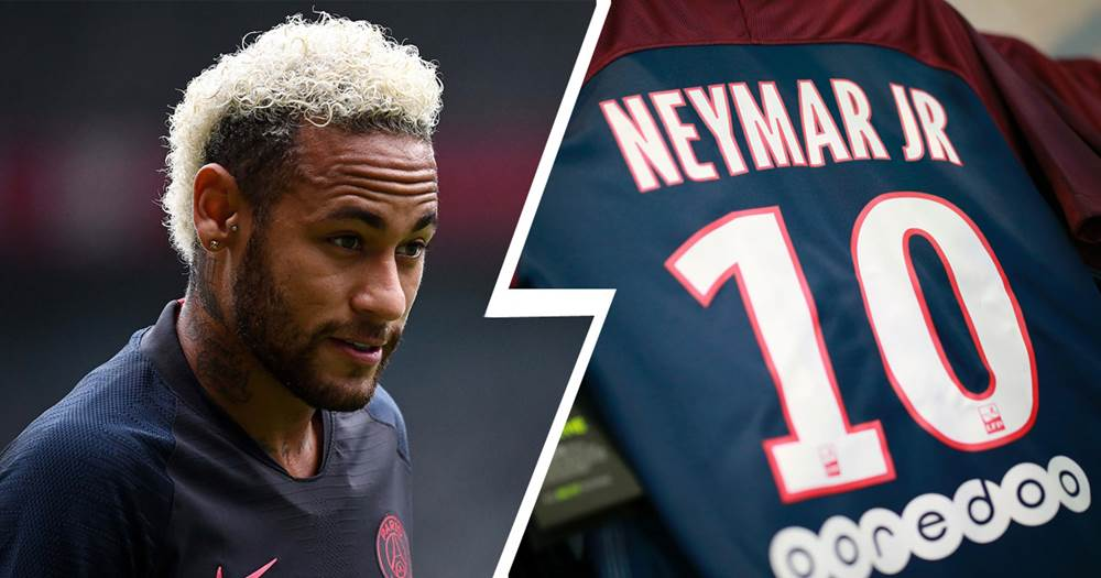 new concept 9fe9f cfc58 AS: Neymar PSG shirt sale rates drop down following Barca ...