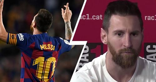 Messi gives his say on blasphemous 'D10s' nickname